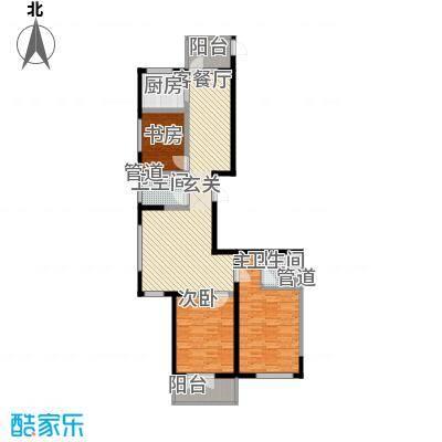 滨西花园二期134.75㎡滨西花园二期户型图D户型3室2厅2卫1厨户型3室2厅2卫1厨