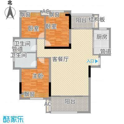 怡翠花园111.00㎡怡翠花园户型10室