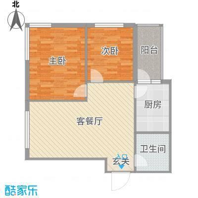 运华广场(江北)运华广场(江北)户型图使用面积63.18㎡2室1厅1卫1厨户型2室1厅1卫1厨