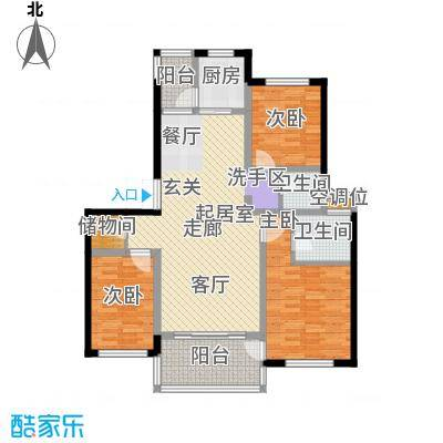帝景传说98.27㎡帝景传说户型图户型图3室2厅2卫1厨户型3室2厅2卫1厨