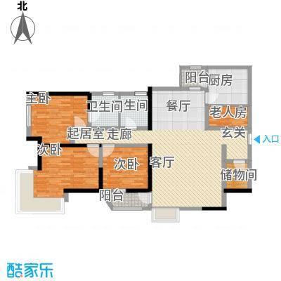 莲花苑莲花苑3室户型3室