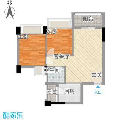 永江花园香溪69.00㎡永江花园香溪户型图1栋D户型2室2厅1卫1厨户型2室2厅1卫1厨