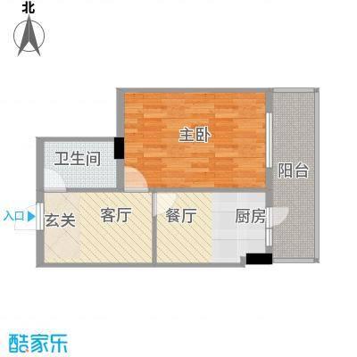 森林人家35.70㎡森林人家户型图1室1厅1卫1厨户型10室