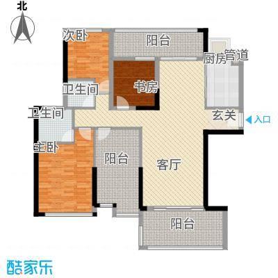 明大汇乐园明大汇乐园户型图2、3栋01户型4室2厅2卫户型4室2厅2卫