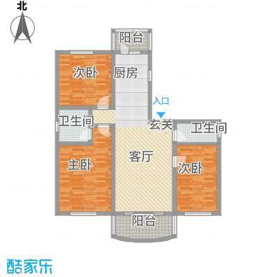 四季芳洲90.24㎡四季芳洲户型图3室1厅1卫1厨户型10室