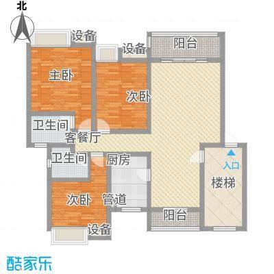明诚景怡苑明诚景怡苑户型图3室2厅2卫1厨户型10室