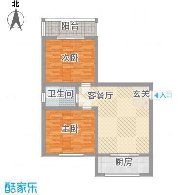 锦绣蓝湾91.85㎡锦绣蓝湾户型图4#楼户型图2室1厅1卫1厨户型2室1厅1卫1厨