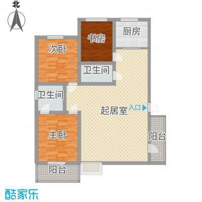 圣会家天下圣会家天下户型图A-B3室2厅2卫1厨户型3室2厅2卫1厨