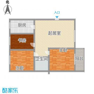 圣会家天下圣会家天下户型图D-C3室2厅1卫1厨户型3室2厅1卫1厨