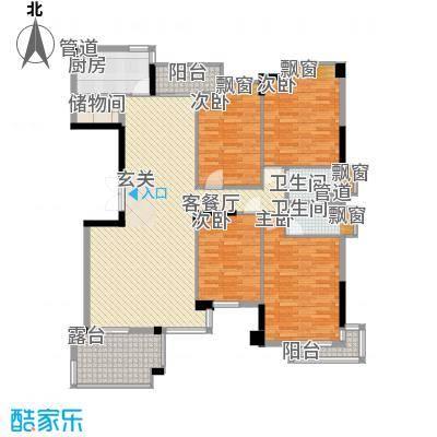 汇银奥林匹克花园174.00㎡奥林匹克花园户型图5室2厅2卫1厨户型10室
