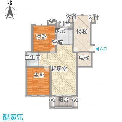 世纪城龙昌苑88.00㎡世纪城龙昌苑2室户型2室
