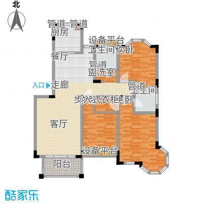 莱茵苑131.03㎡莱茵苑户型图F3室2厅2卫1厨户型3室2厅2卫1厨