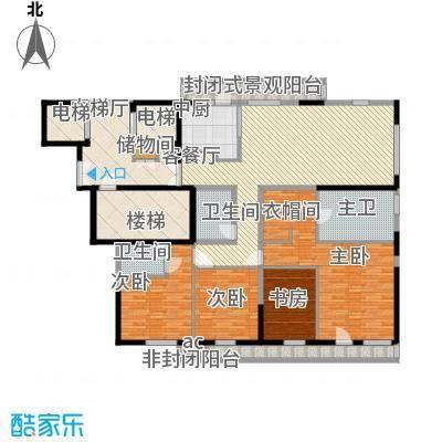 龙湖国际太原龙湖国际户型10室