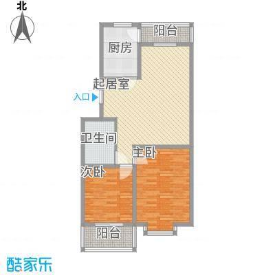 龙云家园96.00㎡龙云家园户型图E户型2室2厅1卫1厨户型2室2厅1卫1厨