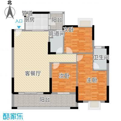龙湾新城122.32㎡龙湾新城户型图F11栋04户型3室2厅2卫1厨户型3室2厅2卫1厨
