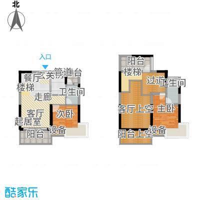 名流印象花园85.00㎡名流印象花园户型图C1户型2室2厅1卫1厨户型2室2厅1卫1厨