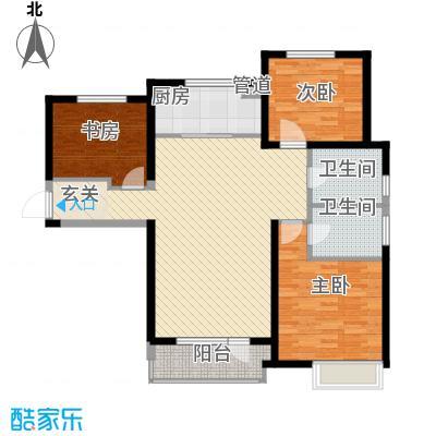 华润海中国135.00㎡华润海中国户型图5号楼E户型3室2厅2卫1厨户型3室2厅2卫1厨