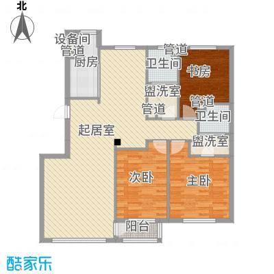 水御兰庭127.21㎡水御兰庭户型图3室2厅2卫1厨户型10室