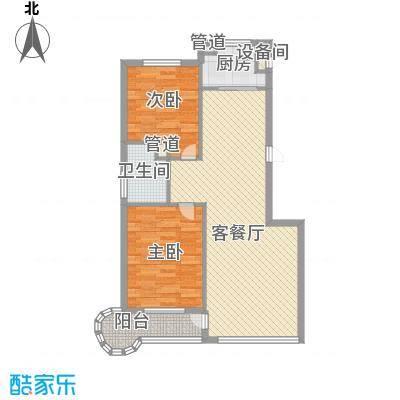 水御兰庭95.55㎡水御兰庭户型图2室1厅1卫1厨户型10室