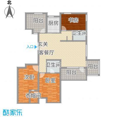 正源吉祥e家户型图24#楼E07户型 3室2厅1卫1厨