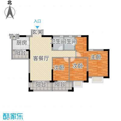 海逸豪庭之逸澄轩 5室 户型图