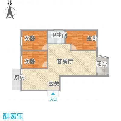 枫岚雅筑118.98㎡枫岚雅筑户型图2室2厅1卫1厨户型10室
