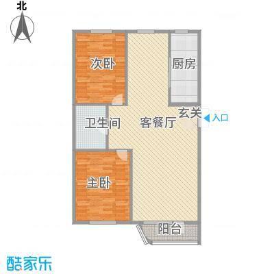 枫岚雅筑129.99㎡枫岚雅筑户型图2室2厅1卫户型10室