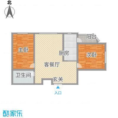 枫岚雅筑108.77㎡枫岚雅筑户型图2室2厅1卫户型10室