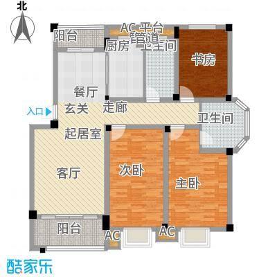 锦绣人家126.00㎡锦绣人家户型图D23室2厅2卫1厨户型3室2厅2卫1厨
