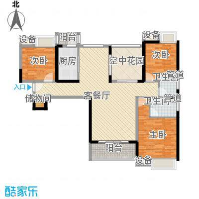 东莞长安万达广场90.00㎡东莞长安万达广场户型图2、4栋标准层D2户型2室2厅1卫1厨户型2室2厅1卫1厨