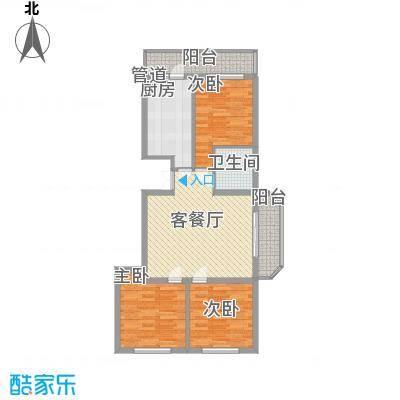 风车小镇99.96㎡风车小镇户型图3室2厅1卫1厨户型10室