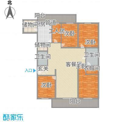 新兴君豪国际公寓299.92㎡新兴君豪国际公寓户型图5室2厅2卫1厨户型10室