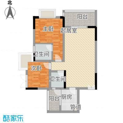 厚街东宝楼 2室 户型图