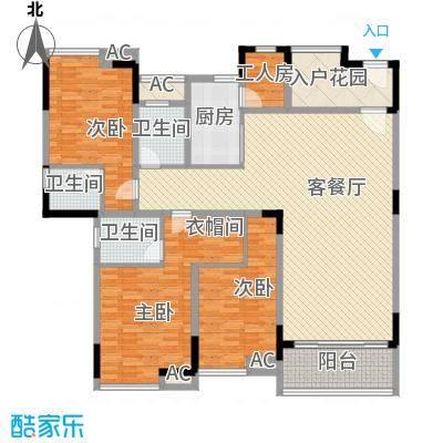 湖景壹号庄园别墅户型图g户型 3室2厅3卫