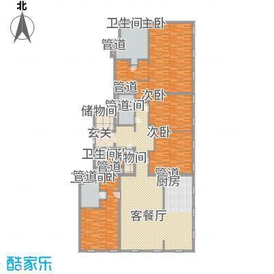 万国城moma户型图D户型(售完) 5室3厅4卫1厨