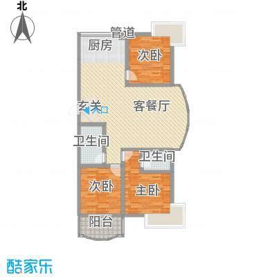 东花园河南户型图201005141959596139