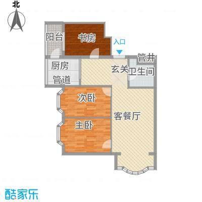 铂宫92.00㎡铂宫户型图2室1厅1卫1厨户型10室