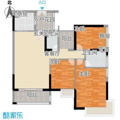 鸿晖・依岸康堤142.00㎡鸿晖・依岸康堤户型图精装3+1房4室2厅2卫1厨户型4室2厅2卫1厨