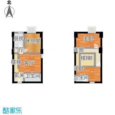 金世纪家园三期54.12㎡金世纪家园三期户型图A户型3室1厅2卫1厨户型3室1厅2卫1厨