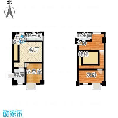 金世纪家园三期53.54㎡金世纪家园三期户型图A'户型3室1厅2卫1厨户型3室1厅2卫1厨