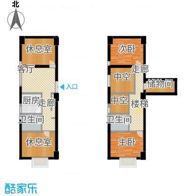 金世纪家园三期101.32㎡金世纪家园三期户型图E户型4室1厅2卫1厨户型4室1厅2卫1厨