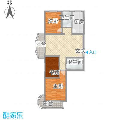 国际丽都城122.28㎡国际丽都城户型图6#楼A户型3室2厅2卫1厨户型3室2厅2卫1厨