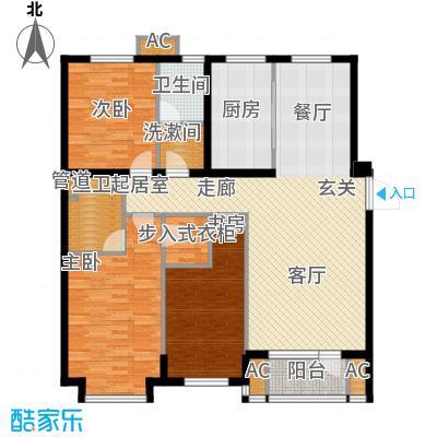 东方圣荷西153.45㎡东方圣荷西户型图户型图3室2厅2卫1厨户型3室2厅2卫1厨