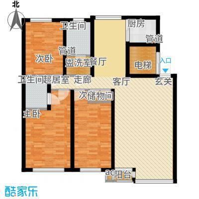 金海湾2期128.00㎡金海湾2期户型图12#―14#楼C户型3室2厅2卫1厨户型3室2厅2卫1厨