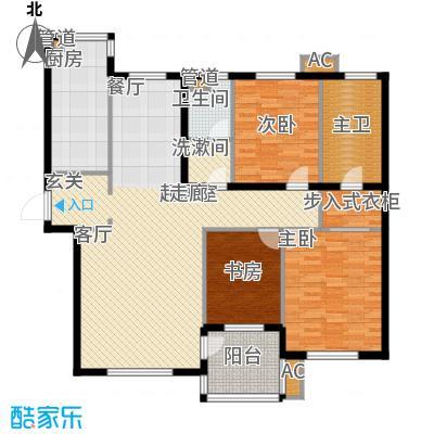 东方圣荷西164.20㎡东方圣荷西户型图户型图3室2厅2卫1厨户型3室2厅2卫1厨