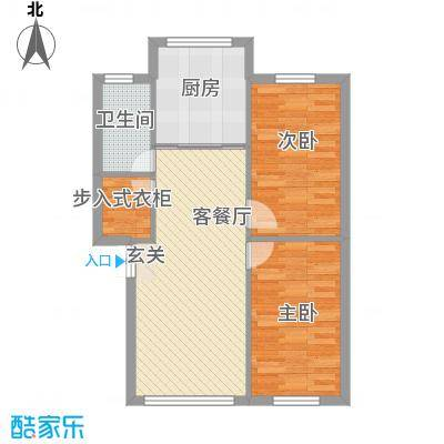 顾庄新村77.00㎡顾庄新村2室户型2室