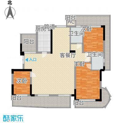 锦江花园锦江花园3室户型3室