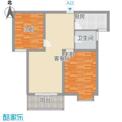 锦江花园92.00㎡锦江花园2室户型2室
