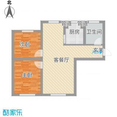 红荔花园红荔花园2室户型2室