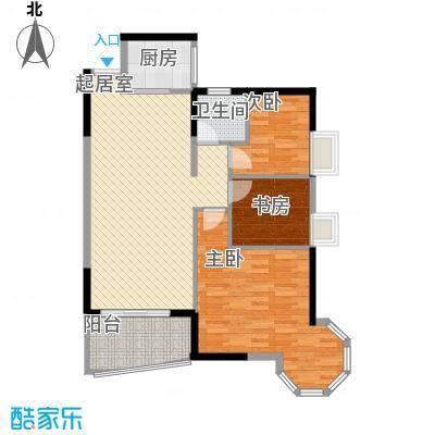 皇家公馆95.00㎡皇家公馆户型10室